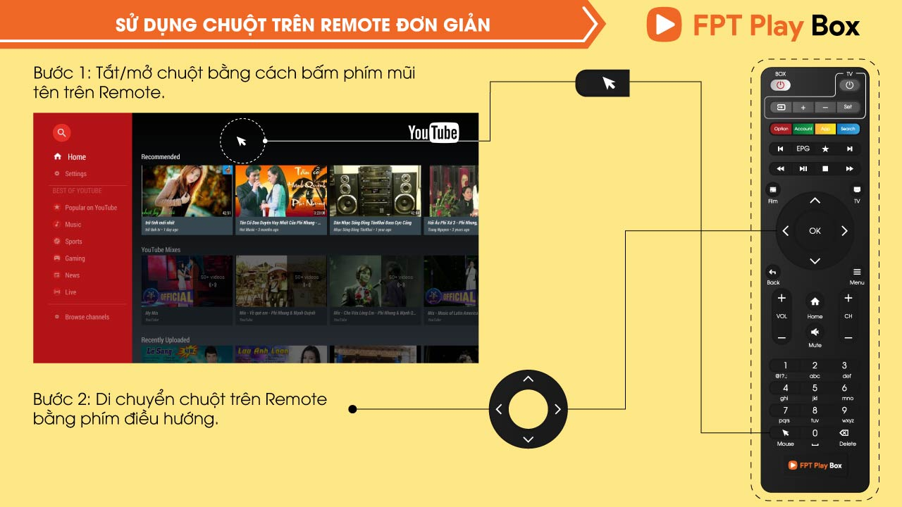 su dung chuot tren fpt play box