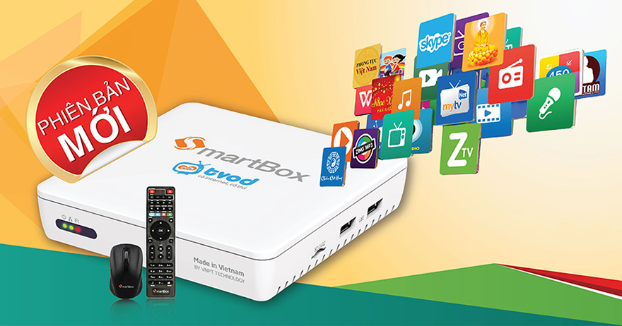 Android tv box VNPT Smartbox 2