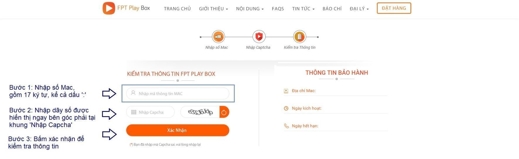 check bao hanh fpt play box